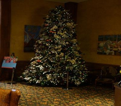 Hershey Xmas Tree