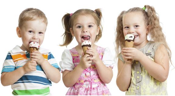rewarding kids with ice cream